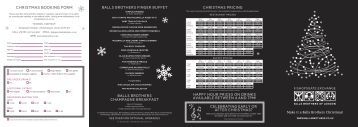 Christmas Booking Form - Net