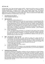 1 ACTA No. 446 En Montevideo, a los 7 días del mes de agosto de ...