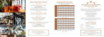 welcome to christmas at the sterling how to book add your own ... - Net