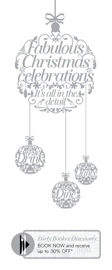 Fabulous Christmas celebrations - Net