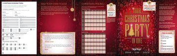 ADD YOUR OWN TOUCH CHRISTMAS PRICING - Net