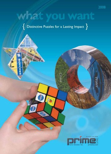 { Distinctive Puzzles for a Lasting Impact } - Prime Line