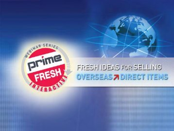 fresh ideas webinar - Prime Line