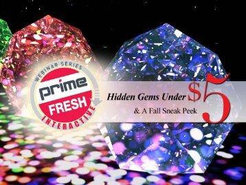 fresh ideas webinar - Prime Line