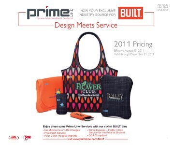 2011 Pricing Design Meets Service - Prime Line