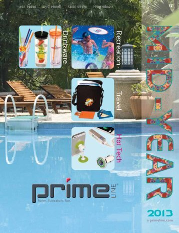Drinkware Recreation Travel HotTech - Prime Line