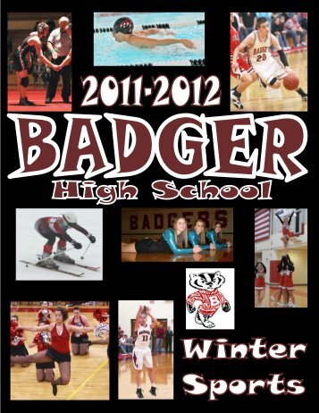 Welcome to the 2011-2012 Badger Winter Sports Season!