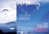 Parapente deltaplane cerf-volant - Ligue Aquitaine Vol Libre - Free