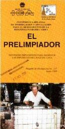 EL PRELIMPIADOR - Corpoica