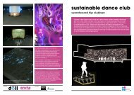 sustainable dance club