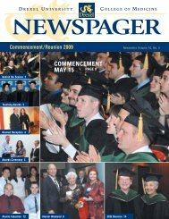 COMMENCEMENT MAY 15 PAGE 8 - Drexel University College of ...