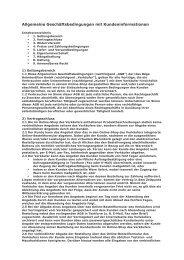 Page 1 Allgemeine Geschäftsbedingungen der Bäga Heimtextilien ...