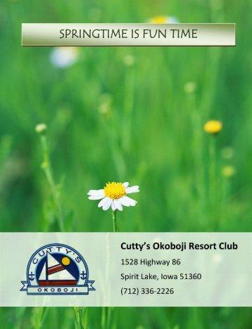 springtime is fun springtime is fun time fun time - Cutty's Okoboji ...