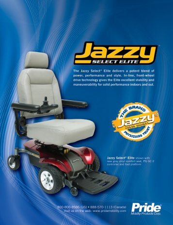 Brochure - Jazzy Electric Wheelchairs
