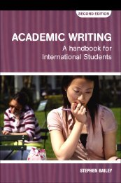 Academic Writing: A Handbook for International Students Second ...