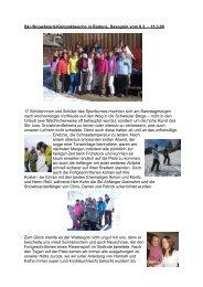 17 Schülerinnen und Schüler des Sportkurses
