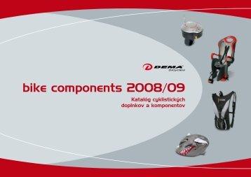 bike components 2008/09