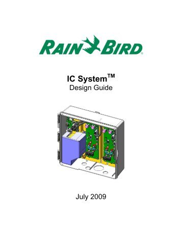 Ici Troubleshooting Guide Rain Bird