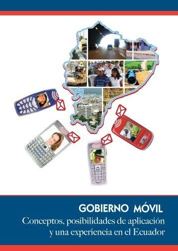 Gobierno móvil: conceptos, posibilidades de aplicación y ... -  Imaginar