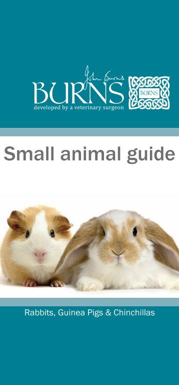 Small animal guide - Burns Pet Nutrition