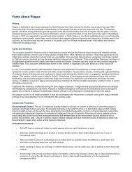 Facts About Plague - Colorado.gov