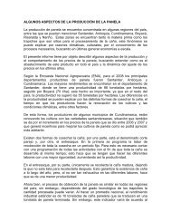 ALGUNOS ASPECTOS DE LA PRODUCCIÓN DE ... - Panela Monitor