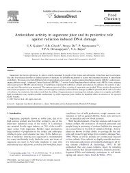 Antioxidant activity in sugarcane juice and its ... - Panela Monitor