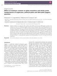 Original article Effect of moisture content on glass ... - Panela Monitor