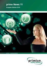 prime News 11 - primion Technology AG