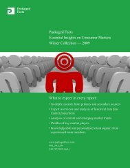 Packaged Facts Essential Insights on Consumer Markets Winter ...