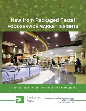 View the brochure - Packaged Facts