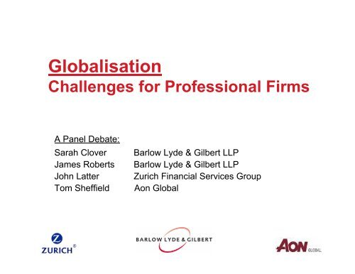 Emerging Trends in International Professional Indemnity Claims