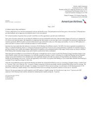 Subject Company: US Airways Group, Inc.