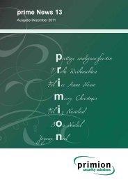 prime News 13 - primion Technology AG