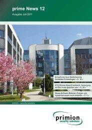 prime News 12 - primion Technology AG