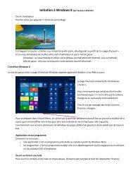 Initiation à Windows 8 (par Jacques Laliberté)