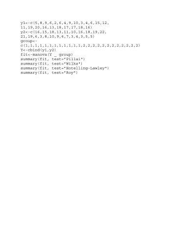 y1<-c(5 8 9 6 2 6 4 9 10 3 4 6 15 12, 11 19 20 16 13 18 17 17 18 16 ...