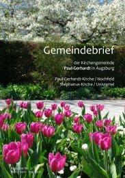 Karwoche und Ostern 2011 - Kirchengemeinde • Paul-Gerhardt