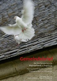 Wandern nach Jahreszeiten - Kirchengemeinde • Paul-Gerhardt