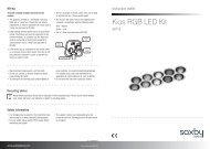 Kios 40116 installation & user guide - SCL Direct