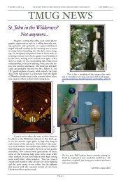 November 2007 TMUG News - Transylvania Mac Users Group