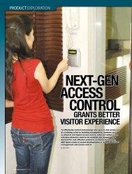 ACCESS CONTROL ACCESS CONTROL - primion  Technology AG