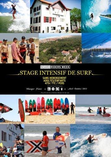 stage intensif de surf - quiksilver-europe.com