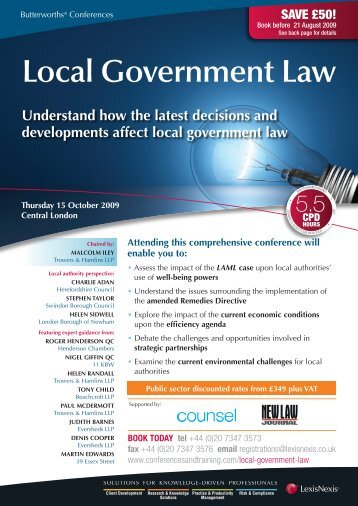 Local Government Law - The Procurement Lawyer's Association