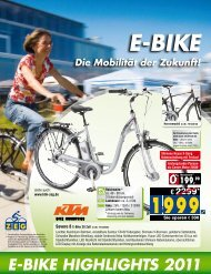 E-BikE HigHligHts 2011 - Zweirad-Trautwein