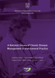 A National Survey of Chronic Disease Management in Irish General ...