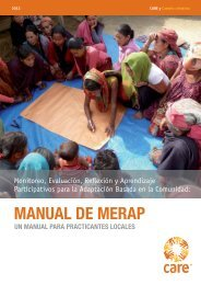 MANUAL DE MERAP - CARE Climate Change
