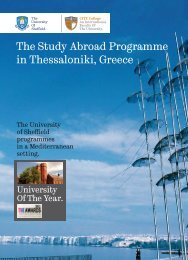 The Study Abroad Programme - City College - Academic.gr
