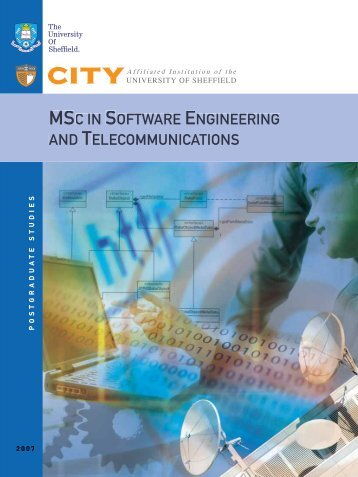 msc in software engineering and telecommunications - City College