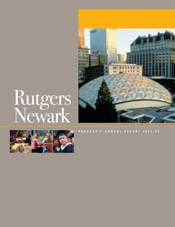 2001-2002 - Rutgers-Newark - Rutgers, The State University of New ...